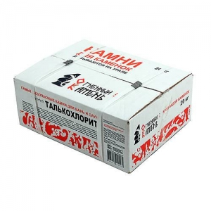 Талькохлорит колотый (20 кг, коробка)