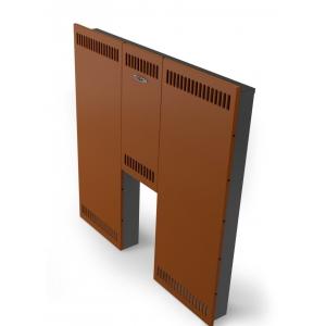 Экран фронтальный Стандарт, стандартная дверца, терракота