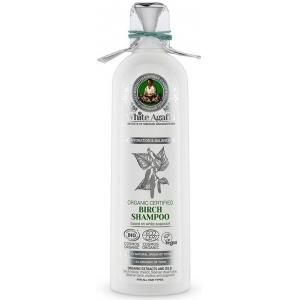 """Бабушка Агафья """"Белая Агафья"""" шампунь для волос органический березовый, увлажнение и баланс"""