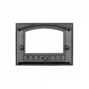 Дверца Каминная ДТ-2С стекло ш375* в300 (8,66кг)