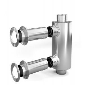 Отопитель натрубный-1, d 115, 1/0,5 мм, 0,65 м