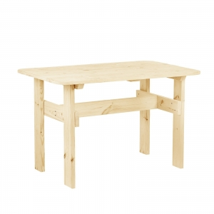 """Стол к набору """"Дачный"""" 120 см, натуральная сосна"""
