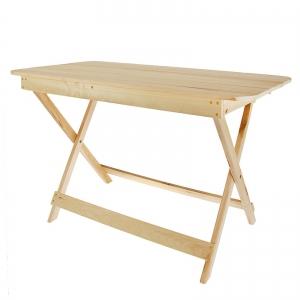 Стол раскладной прямоугольный 120*60*75см