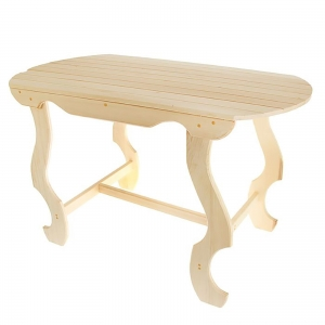 Стол с фигурными ножками 110×63×73 см