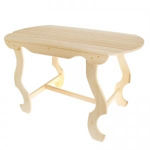 Стол с фигурными ножками 140×63×73 см