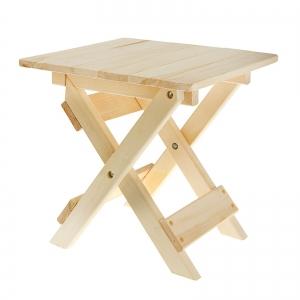 Столик к лежаку складной 50 х 42 х 40 см