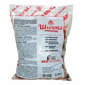Шишки сосновые 2,5 кг, мешок