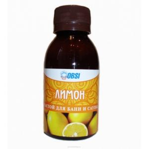 Настой для бани и сауны «Лимон» OBSI, 100 мл
