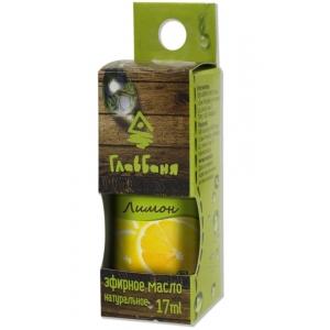 """эфирное масло ГлавБаня """"Лимон"""" 17 мл."""